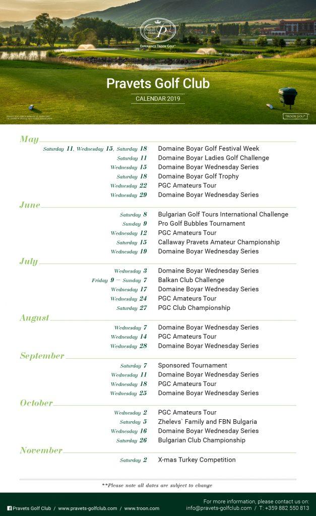 PGC - Golf Calendar 2013 - final